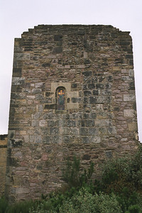 The Margaret Chapel in Edinburgh Castle.
