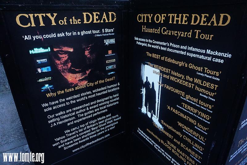Edinburgh City of the Living Dead Tours