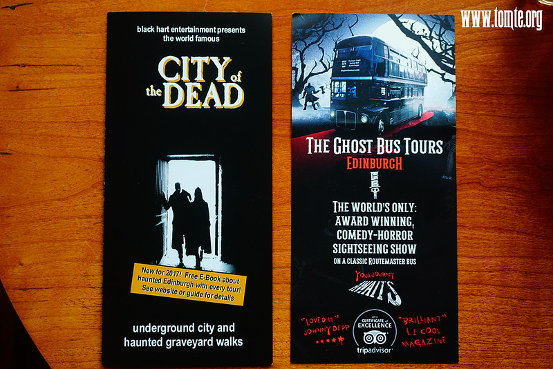 Edinburgh The Ghost Bus / City of the Dead Tours