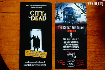 Edinburgh 2018 - The Ghost Bus and City of the Dead tour
