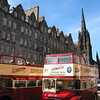 Busses on the Royal Mile