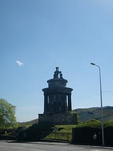 Memorial to Robert Burns.