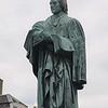 Edinburgh, Scotland - Thomas Chalmers monument - with open Bible -