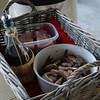 shrimp and mahi-mahi on the grille