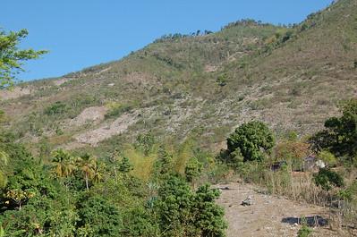 hills surrounding Delatte