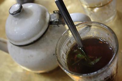 Mint tea, Cairo, Egypt
