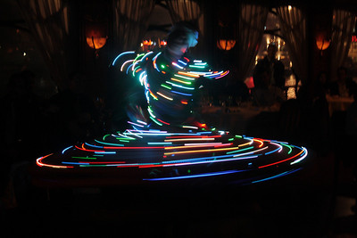 Whirling dervish on the Nile
