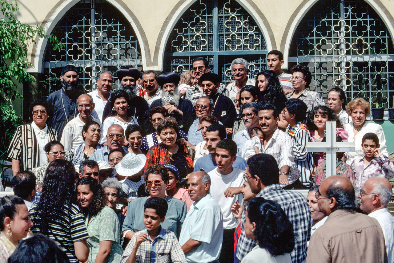Post-Ordination at Deir Anba Bishoi Monestary in Egypt - July 1997