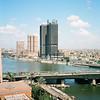 Cairo view from Cairo Marriott Hotel & Omar Khayyam Casino