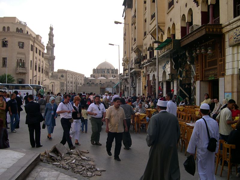 Downtown Cairo, near Khan el-Khalili, the old market.