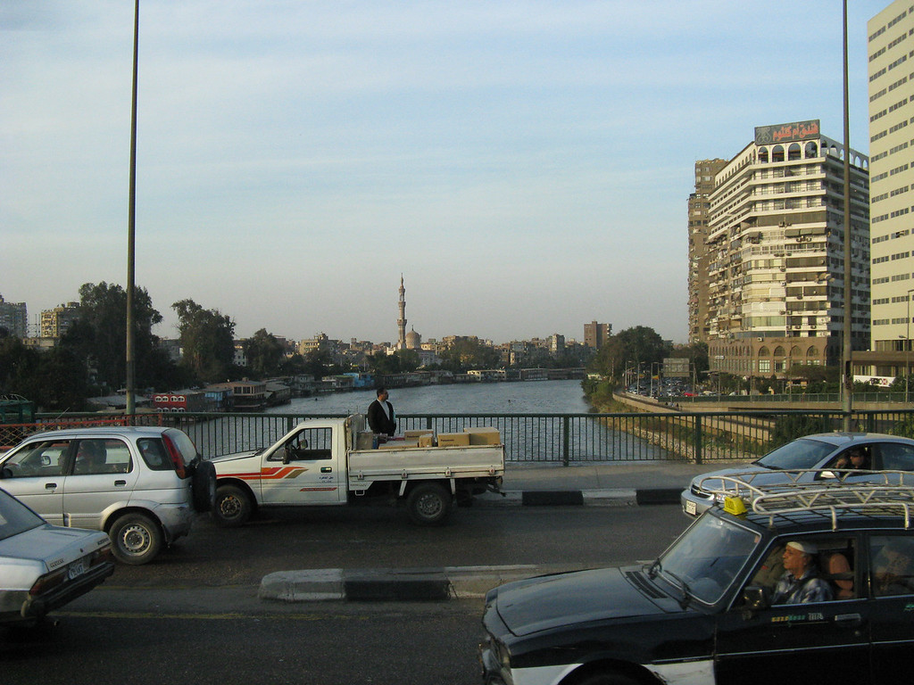 Bridge over the Nile. The Nile is the center of all life in Egypt both economically and socially. Without the Nile, there is no Egypt.