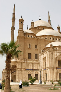 Cairo - The Mosque of Mohammed Ali within the Citadel.
