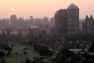 Cairo - Sunset over Cairo