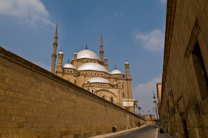 Title: The Alabaster Mosque<br /> Date: October 2009<br /> Cairo