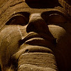 Title: Face of Ramses the Great<br /> Date: October 2009<br /> Abu Simbel