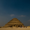 Title: Point of Origin<br /> Date: October 2009<br /> The Step Pyramid of Djoser in Saqqara.