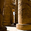 Title: Massive Columns<br /> Date: October 2009<br /> Karnak Temple in Luxor.