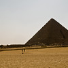 Title: Shadow of the Queen's Tomb<br /> Date: October 2009<br /> Giza