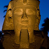 Title: Eternal Stare<br /> Date: October 2009<br /> One of the sphinxes on the Avenue of Sphinxes at Luxor Temple.