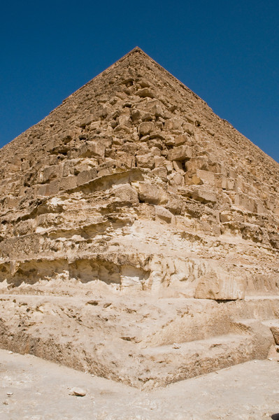 Title: Cornered<br /> Date: October 2009<br /> Great Pyramid of Giza.