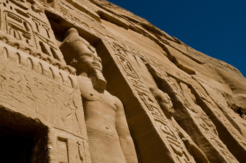Title: Carved Guard<br /> Date: October 2009<br /> Abu Simbel.