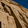 Title: Carved Guard<br /> Date: October 2009<br /> Abu Simbel.
