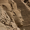 Title: In Profile<br /> Date: October 2009<br /> Abu Simbel