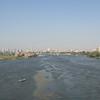 The Nile River near Giza