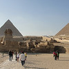 What it really looks like! This is what the Giza Pyramids and Sphinx look like if you come by bus. The pics I took avoided this view
