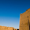 Title: Moon Over Edfu<br /> Date: October 2009<br /> Edfu