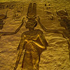 Title: Crowning of the Queen<br /> Date: October 2009<br /> Abu Simbel