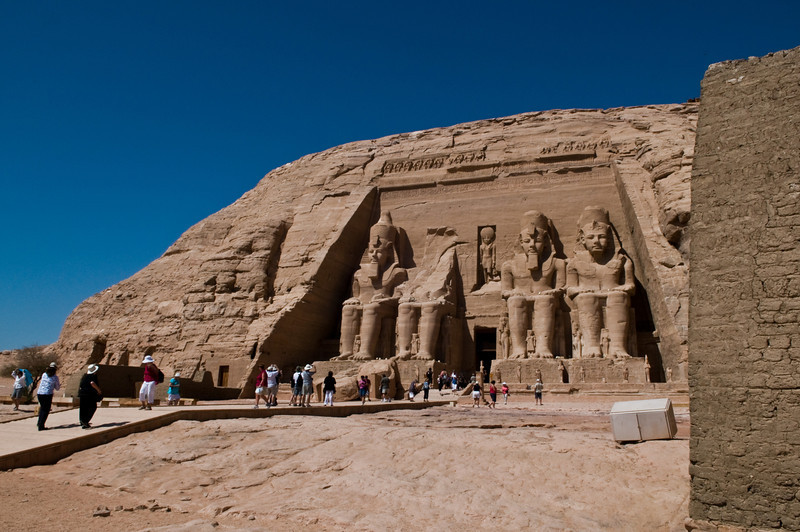 Title: To Scale<br /> Date: October 2009<br /> Abu Simbel