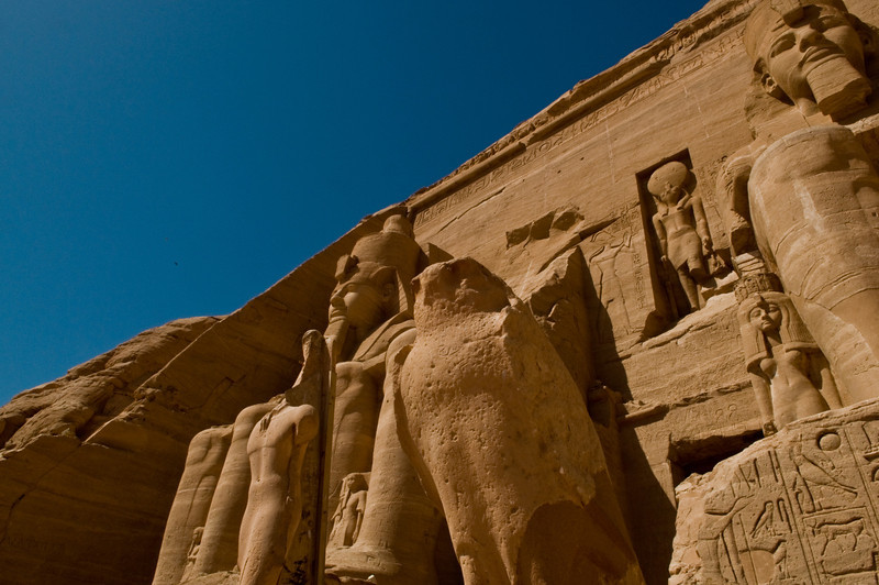 Title: Broken Hawk<br /> Date: October 2009<br /> Abu Simbel