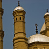 Title: Towers of the Crescent Moon<br /> Date: October 2009<br /> Detail of the Alabaster Mosque in Cairo.