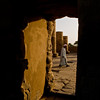 Title: Doorway Through Time<br /> Date: October 2009<br /> Through one of the doorways at Kom Ombo on the Nile.