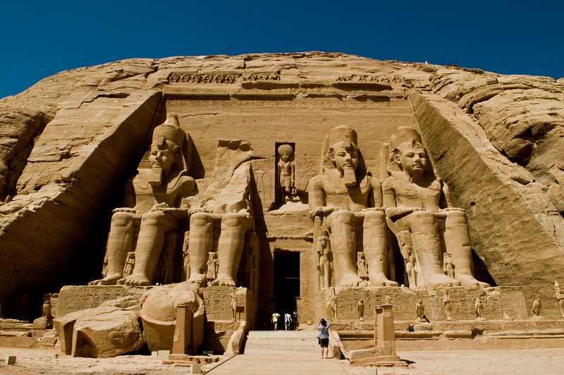 Title: Ramese' Great Achievement<br /> Date: October 2009<br /> Abu Simbel