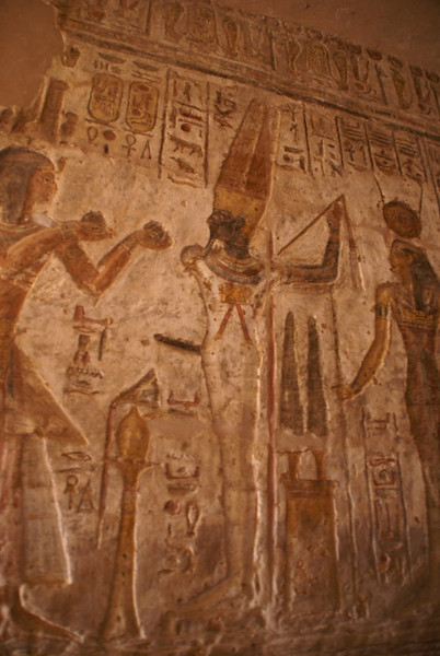 Ramses and the fertility god.