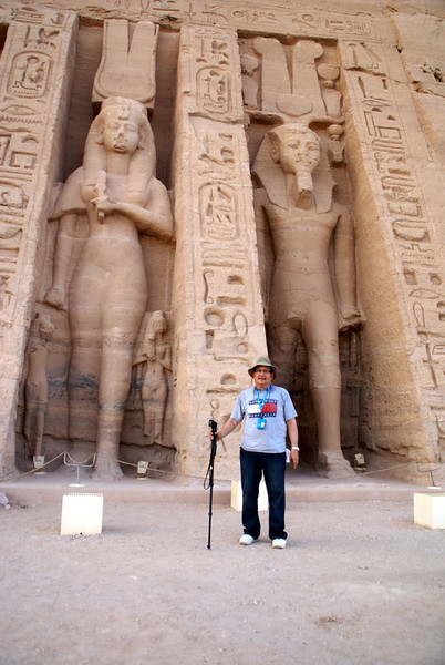 Nefertiti's temple at Abu Simbel