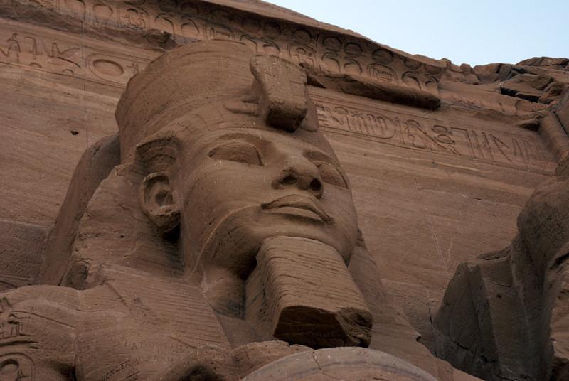 Abu Simbel  Statue of Ramses II