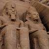 Abu Simbel  Statues of Ramses II and