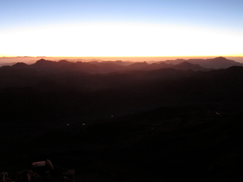 Climbing Mount Sinai (1)