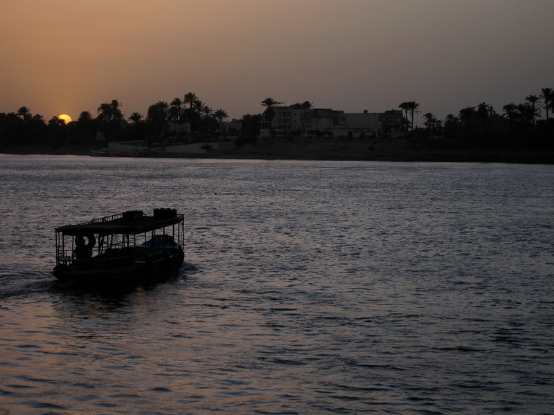 Nile by Luxor