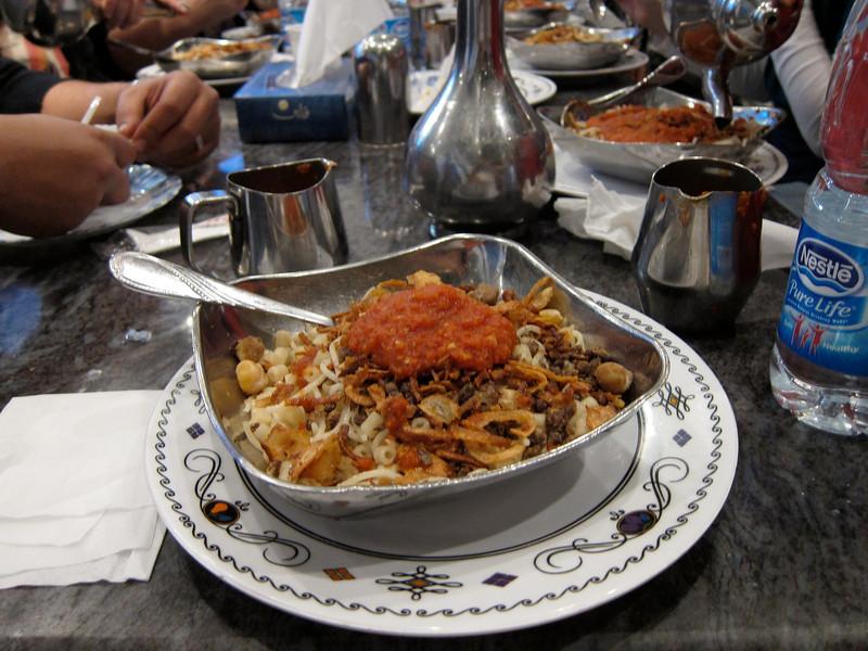 Abou Tarek, the Home of Koshary (1)