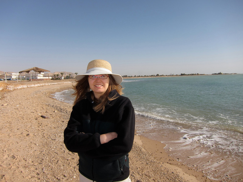 Deserted Beaches along the Red Sea