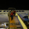 Landing in Egypt