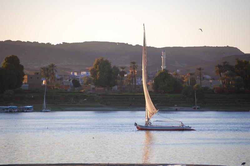 Nile by Aswan