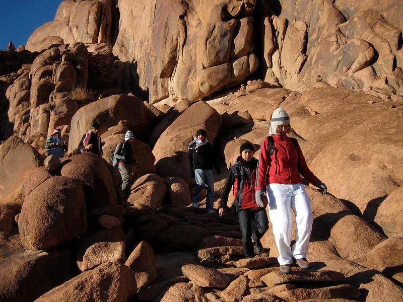 Descending Mount Sinai (1)