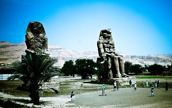 Collossi of Memnon 2011
