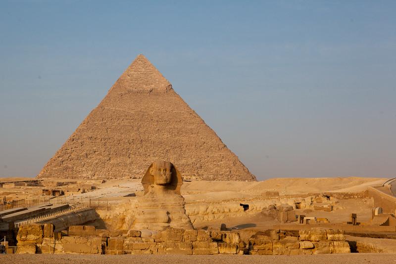 Káhira, pyramidy, sfinga