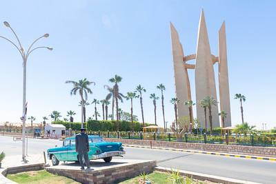 Dam Memorials, Aswan, Egypt